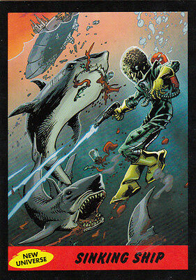 2012 Topps Mars Attacks Heritage New Universe Card #6 Sinking Ship