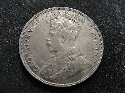 1921 CYPRUS 18 PIASTRES SILVER COIN Looks XF+