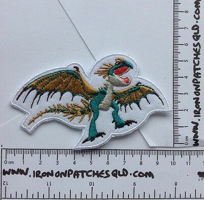 Iron On Patch How To Train Your Dragon Stormfly 10cm x 5.5cm Sew Applique B9