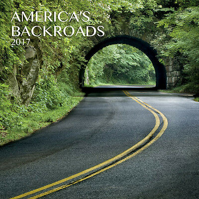 """America's Backroads 2017 Wall Calendar by Turner/Lang (12"""" x 24"""" when opened)"""