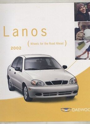 2002 Daewoo Lanos US Brochure ww4740