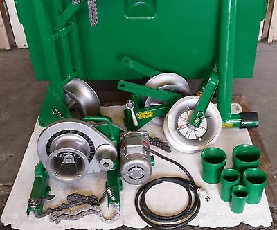Greenlee 640 Cable Wire Pulling System Tugger Puller 686 642 670
