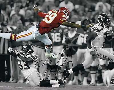 Eric Berry Kansas City Chiefs Tennessee COA SIGNED 8x10 PHOTO AUTOGRAPHED