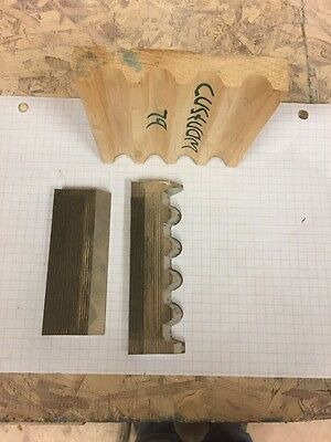 Shaper Knives 5/16 Corrugated Profile Cutter Fluted