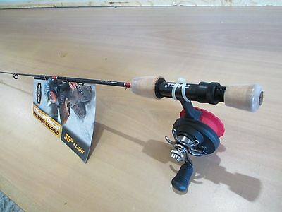 "Frabill Bro Series 36""  light straight line ice fishing combo #6789 NEW"