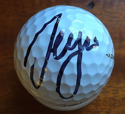 "Sergio Garcia Signed ""SG"" Taylor Made Used Golf Ball"