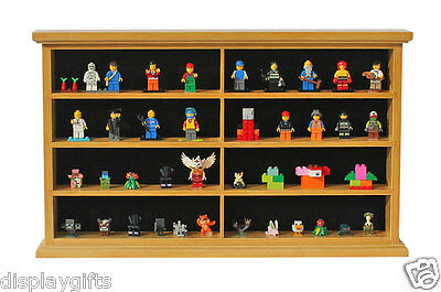 Kid-Safe Lego/Minecraft Minifigure Display Case Wall Cabinet Stand, LG-MH07-OA