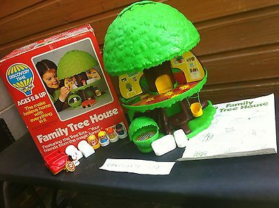 Palitoy Tree House Complete & Boxed Rare Vintage Retro Toy