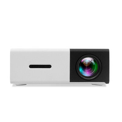 YG300 Black Projector Mini portable LED handheld projector home entertainment