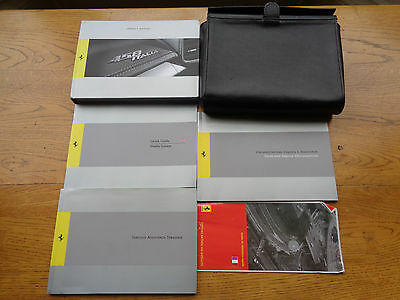 Ferrari 458 Italia Owners Handbook/Manual and Wallet