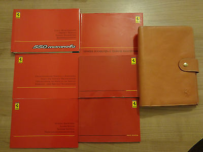 Ferrari 550 Maranello Owners Handbook/Manual and Pack