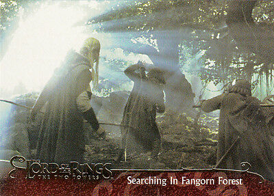 2003 Topps Lord Of The Rings The Two Towers Base Card #108 Fangorn Forest