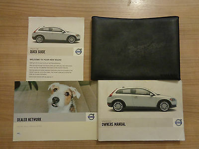 Volvo C30 Owners Handbook Manual and Pack 06-09