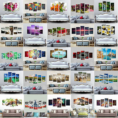 Unframed Canvas Prints Modern Home Decor Wall Art Picture Room Oil Painting New