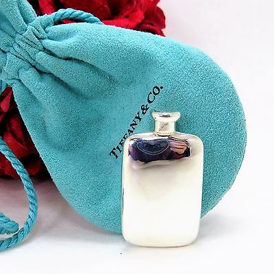 Vintage Rare Tiffany & Co. 925 Sterling Silver Perfume Cologne Flask Bottle
