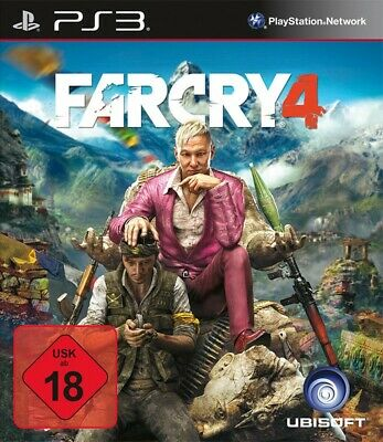 PS3 / Sony Playstation 3 Spiel - Far Cry 4 (DEUTSCH) (mit OVP)