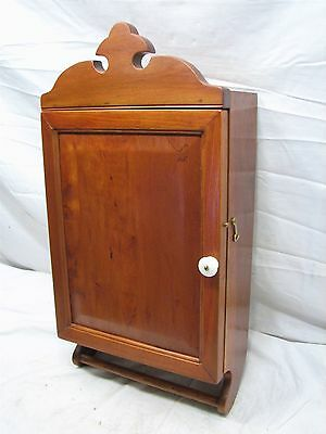 Antique Wooden Bathroom Medicine Wall Kitchen Spice Cabinet Apothecary