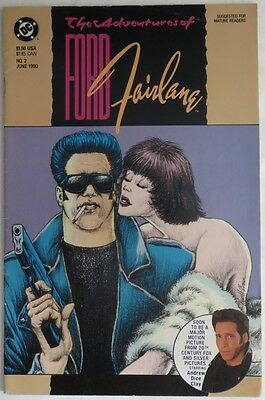 1990 The Adventures Of Ford Fairlane #2  -  Vg                       (Inv12198)