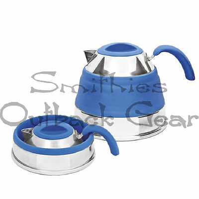 Companion 1.5L Pop Up Kettle Blue, Caravaning , Camping, 4Wdriving