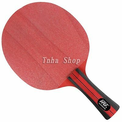 HRT Red Crystal Carbon Table Tennis / Ping Pong Blade