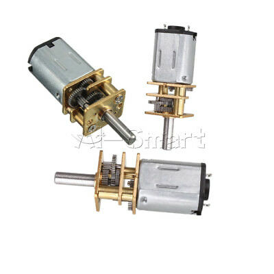 6/12V 300/600/30RPM Mini DC Metal Gear Motor with Gearwheel Shaft Diameter N20 A