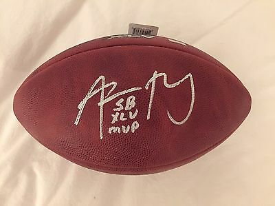 Aaron Rodgers Autographed Super Bowl XLV Football With Inscription