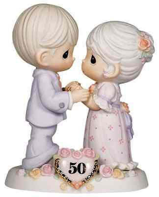 """Precious Moments, Anniversary Gifts, """"We Share A Love Forever Young"""", 50th A"""