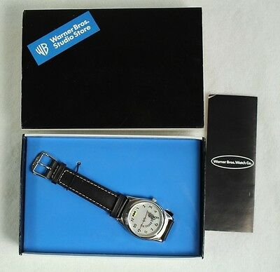 "RARE Batman Watch by Fossil ""The Caped Crusader"" Warner Bros. Studio Store"