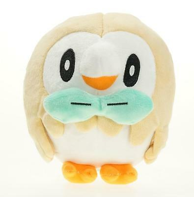 "Starter Pokemon Sun Moon 6.5"" Rowlet Plush Toy Soft Stuffed Animal Doll"