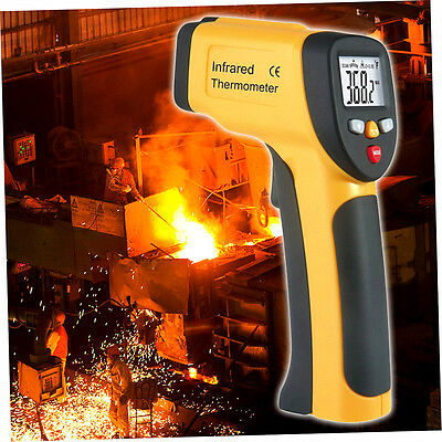 LCD Display IR Infrared Thermometer -50 To 650 Degree Celsius HT-816 Handheld AL