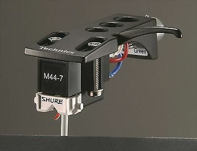 NEW Shure M44-7H ( M44-7 Cartridge and Stylus on Technics Headshell SET ) F/S