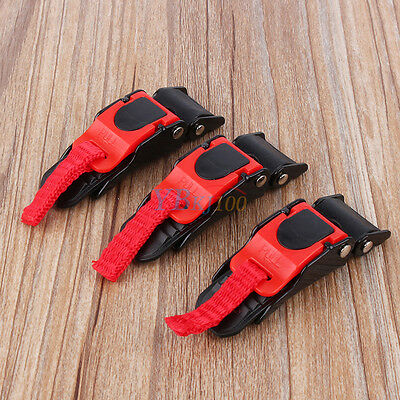 Motorcycle ATV Helmet Chin Strap Speed Sewing Clip 3 Quick Release Buckle Hot