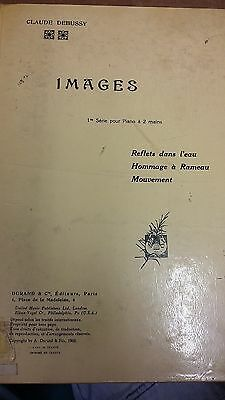 Debussy: Images For Piano Series 1: Music Score (LP6)