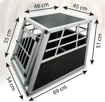 Dog transport crate for car