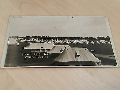 View of Camp (O.T.C.) Strensall 1926 Postcard