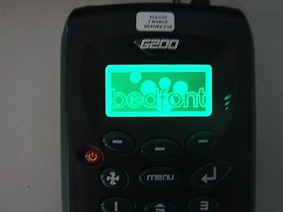 Bedfont G200 Range Analyser N02 Leak Detector Dental