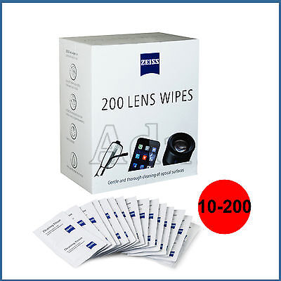 Zeiss Lens Wipes Single Sachets Gentle Though Cleaning Of Optical Surfaces