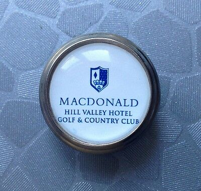 Golf Ball Marker - Macdonald Hill Valley Golf & Country Club