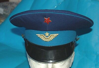 Russian Navy Officers  Cap And Badge (Rb)