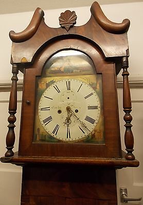 8 Day Victorian Scottish Longcase Clock for restoration (incomplete)