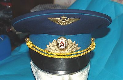 Russian Army Officers  Cap And Badge (Rc)