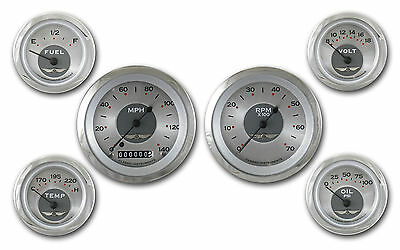 classic instruments all american original series 6 gauge set aw01src speedo tach