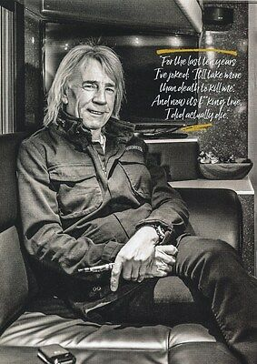 Status Quo - Rick Parfitt - I Did Actually Die - A4 Photo Print