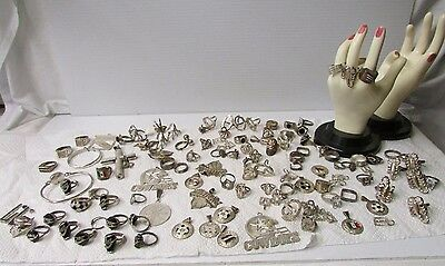 Over 564g of New Old Stock of Sterling Silver Jewelery