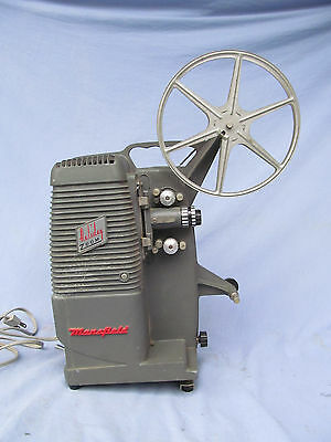 Vintage Mansfield Holiday 8mm Movie Projector Model 501 w/ Reel