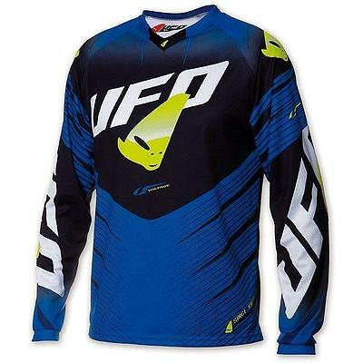 "Maglia cross | enduro UFO PLAST ""VOLTAGE"" blu ""XXXL"""