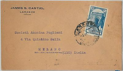 59247 - SPANISH   MOROCCO - POSTAL HISTORY: COVER to ITALY - 1928