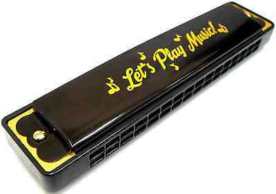 Harmonica Musical Harmonicas 16 Holes Key of C Mouth Organ Guitar Sound Toy New
