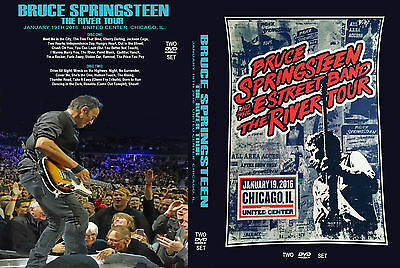 Bruce Springsteen. 2016. Chicago. The River Tour. 2 Dvd.