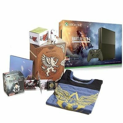Xbox One S 1TB Console - Battlefield 1 Bundle + Loot Gaming Crate